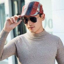 Golf Driving Sun Flat Cap New Men's Hat Berets Cap Fashion Cotton Beret