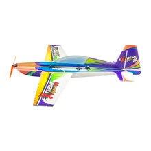 Asas de dança hobby e27 edge540 710mm wingspan 3d pp rc avião kit com brushless S-FHSS/dsmx/2/frsky d16/frsky d8 power combo