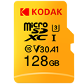 Cartão de memória de kodak 128 gb 64 gb u3 micro sd cartão 32 gb u1 class10 UHS-1 cartões flash microsd tf para tablet