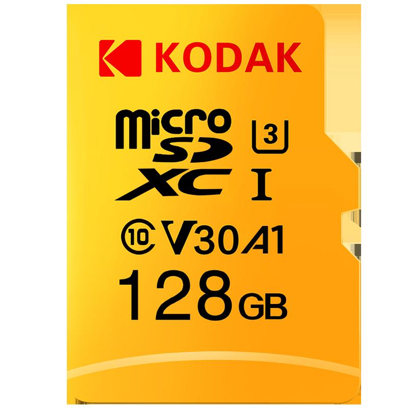 Kodak Memory Card 128GB 64GB U3 Micro Sd Card 32GB U1 Class10 UHS-1 Flash Card Microsd TF Cards For Tablet Cartao De Memoria