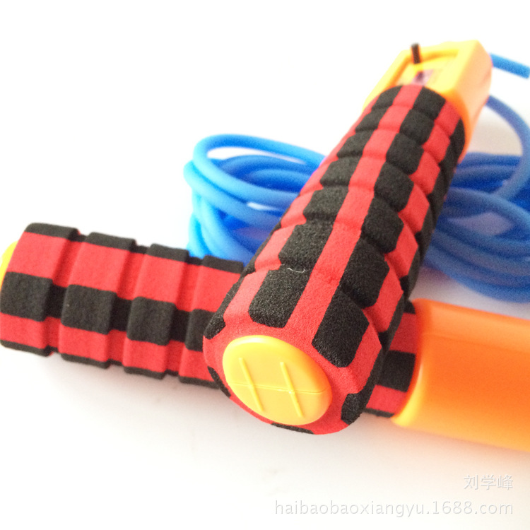 Sponge Counting Jump Rope Students Sports Supplies Count Jump Rope Exercise Jump Rope