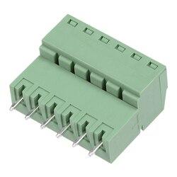 Uxcell 4 pary 3.81mm Pitch 6Pin wtykowy blok zacisków złącze męskie i żeńskie do PCB w Złącza od Lampy i oświetlenie na