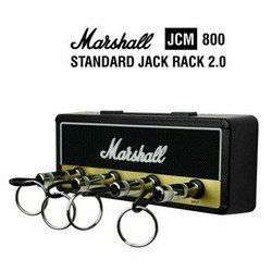 Vintage guitarra amplificador chave base chave cabide chave kit de armazenamento com quatro acessórios moda chaveiro novo