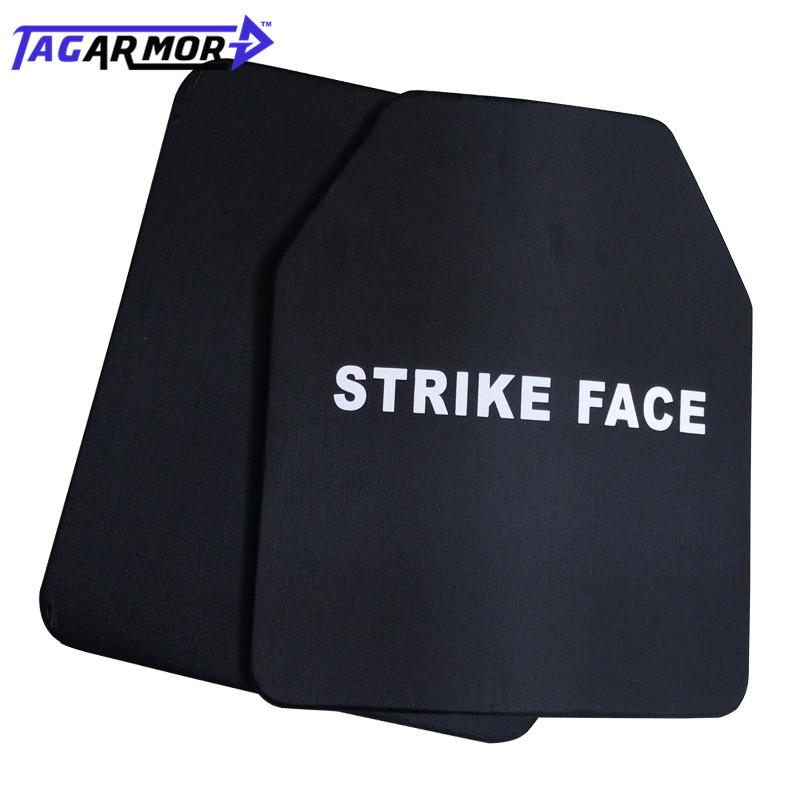 1pc NIJ Level III  Strike Face Steel Alloy Bulletproof Armor Ballistic Plates For Military Training