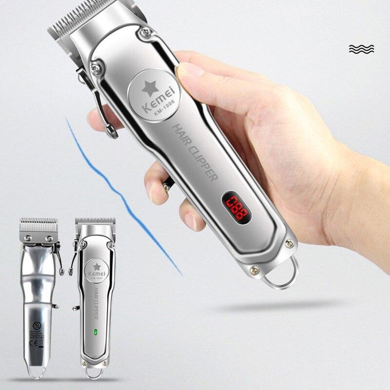 New Barber Shop Hair Trimmer Professional Hair Clipper For Men Beard Electric Cutter Hair Cutting Machine Haircut Cordless Corde