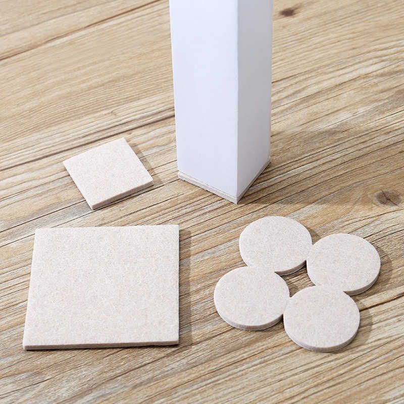 Self Adhesive Silicone FURNITURE PADS Protects Floor Anti Skid Scratch Tabs New