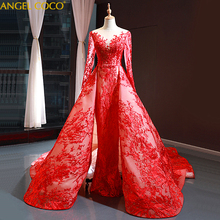 Gorgeous Royal 2020 ยาวซาอุดีอาระเบียดูไบชุดราตรีผู้หญิงชุดราตรีอย่างเป็นทางการ Abendkleider Abiti Da Cerimonia Sukienki
