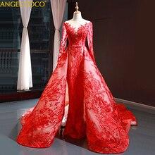 Muhteşem kraliyet 2020 uzun suudi arabistan Dubai akşam elbise kadınlar için resmi gece elbisesi Abendkleider Abiti Da Cerimonia Sukienki