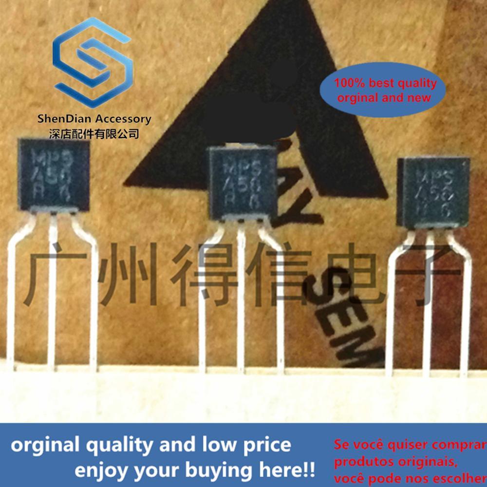 30pcs 100% Orginal New MPSA56 A56 PNP General Purpose Transistor To-92  Real Photo