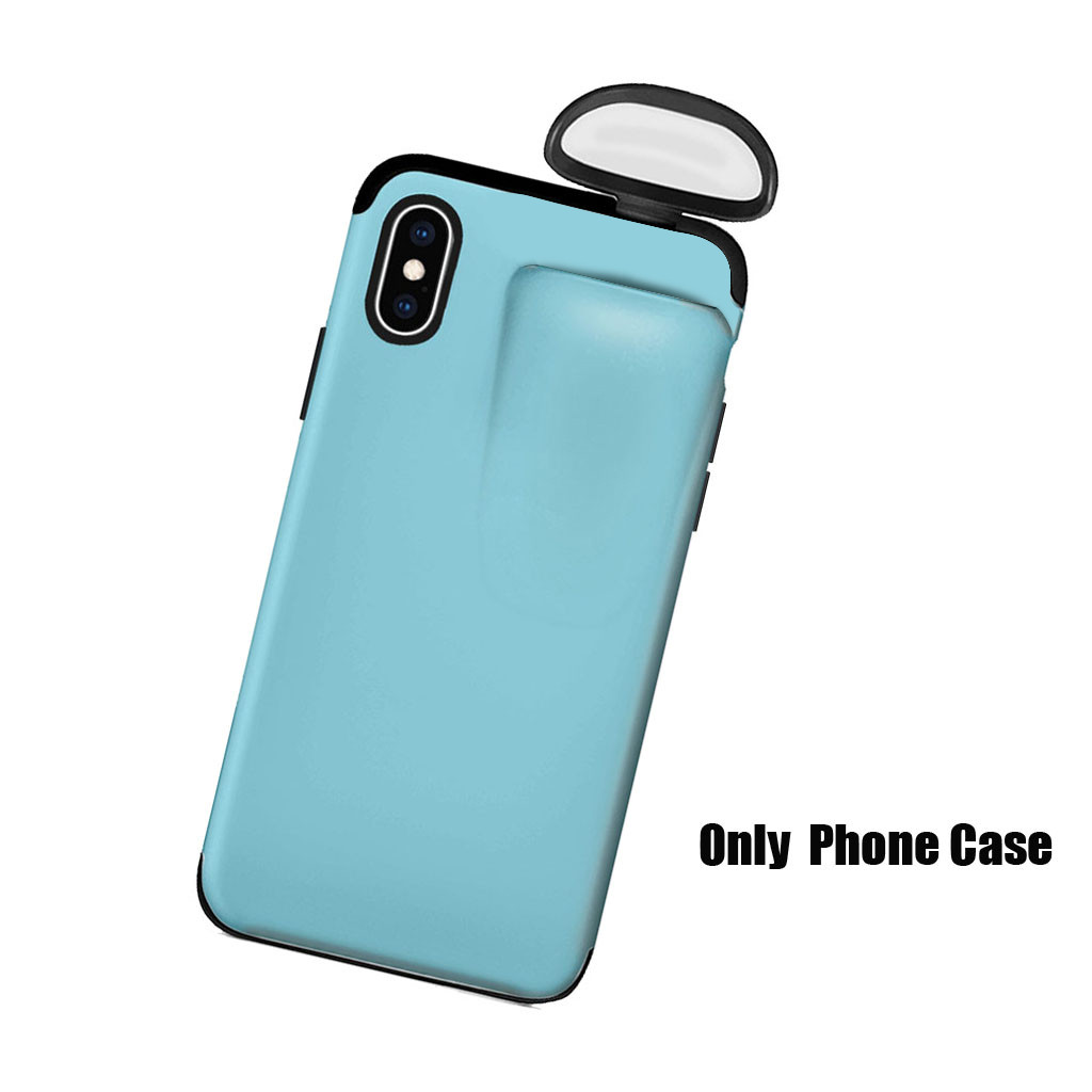 2in1 Phone AirPod Case iPhone 7 8 Plus XR XS Max 11 Pro Max