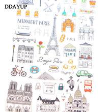 Европейский стиль дорожный дневник бумажная наклейка декорация