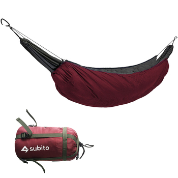 Outddor Camping Sleeping Bag Portable Hammock Underquilt Hammock Thermal Under Blanket Hammock Insulation Accessory for Camping