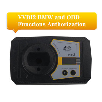 VVDI2 For BMW and OBD Functions Authorization Service