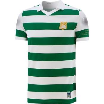 2021 Лимерик Джерси 100 лет премьеры полоса бросать вышивки дома Для Мужчин's Спортивная рубашка с короткими рукавами, S 5XL|Майки для регби|   | АлиЭкспресс