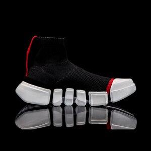 Image 2 - (ブレークコード) li ningの男性nyfwウェイドエッセンスiiバスケットボール文化の靴ライニング李寧スニーカースポーツ靴ABCM113 XYL144