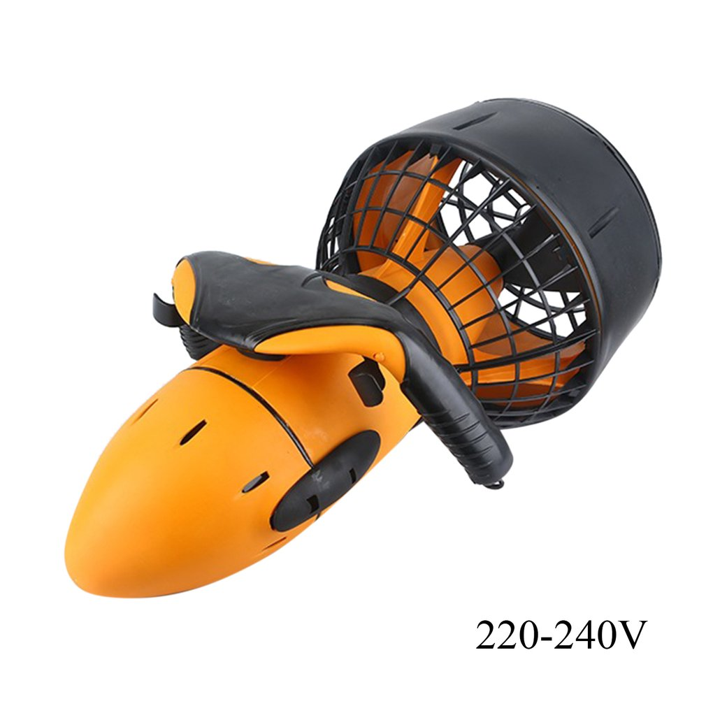 (Ship From DE)Water Sports Submersible Diving Equipment Underwater Propellers Swimming Surfing Water Scooters US/EU Plug