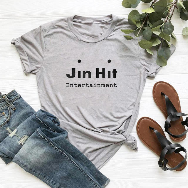 JIN HIT ENTERTAINMENT T-SHIRT (3 VARIAN)