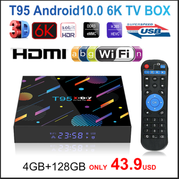 2020 T95 XGODY H616 Smart TV Box Android 10 10.0 4GB 32GB 64GB 128G 4K HD Youtube Media Player Netflix TV 2.4G&5G Set Top Box
