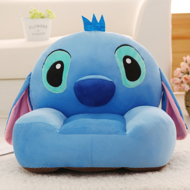 Baby Kids Bean Bag Children Sofa Toys Children Plush Fabric Toys Without Filler Inside Cover