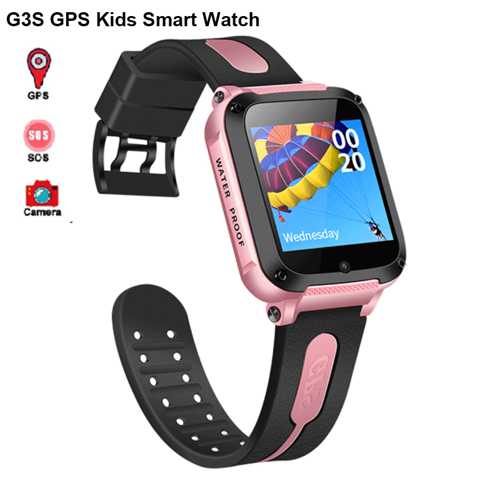 New G3S <font><b>Smart</b></font> <font><b>Watch</b></font> for Baby Child <font><b>Kids</b></font> GPS SOS Sleeping Remote Monitor Pedometer Camera DND in Class Smartwatch PK Q50 Q90 <font><b>Q528</b></font> image