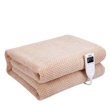 150x180 см, 220 В, электрическое одеяло, зимнее, утепленное, двойное, для тела, с подогревом, матрас, товары для дома, спальни