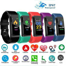 NEW Smart Men Women Heart Rate Monitor Blood Pressure Fitness Tracker Smartwatch Sport Watch for iPhone Xiaomi Android Phone(China)