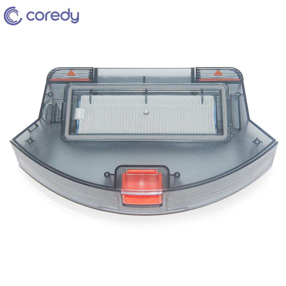 Replacement Accessory 500ml Dustbin Vacuum Cleaner For Coredy R500+ Robot Vacuum Cleaner Accessories Parts with hepa filter