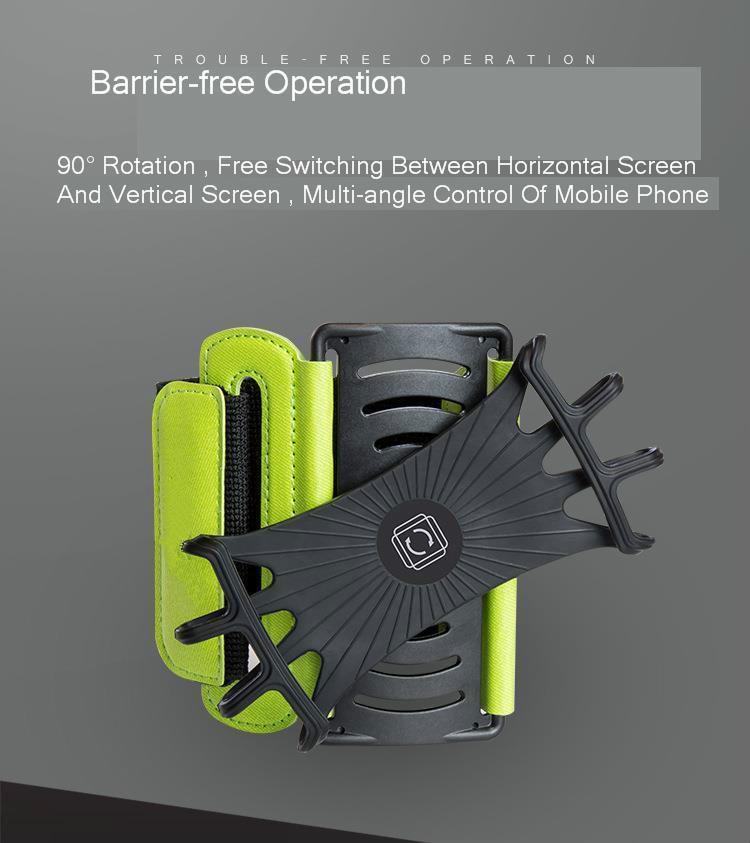 Nauci Funda de Jogging Compatible con Huawei Honor 10 Lite Pulsera Funda para tel/éfono m/óvil Deporte Bolsa de Fitness