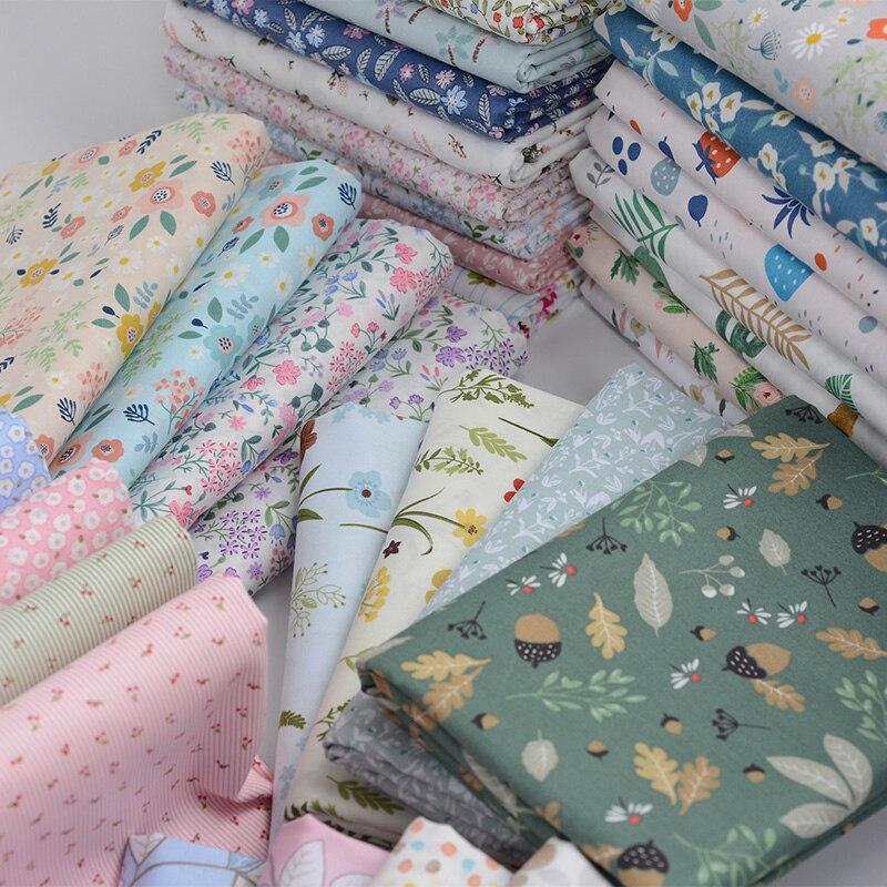 100 coton tissu enfants coton patchwork tissu bricolage couture quilting gros quarts materiel pour bebe et enfant