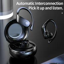 A15 esportes sem fio fones de ouvido bluetooth5.0 execução fones alta fidelidade tws 8d som emparelhamento automático inteligente redução ruído
