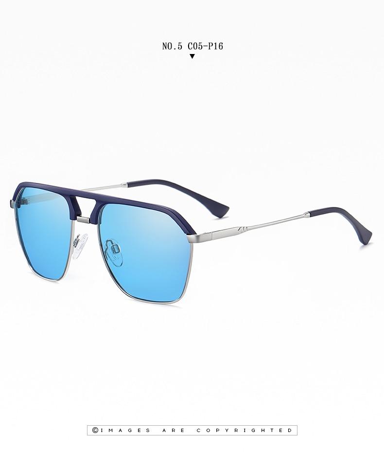 Classic Pilot Polarized Sunglasses Men Coating Mirror Sport Retro Sun Glasses Men Ride Travel Driving Fishing Eyewear Male UV400 (19)