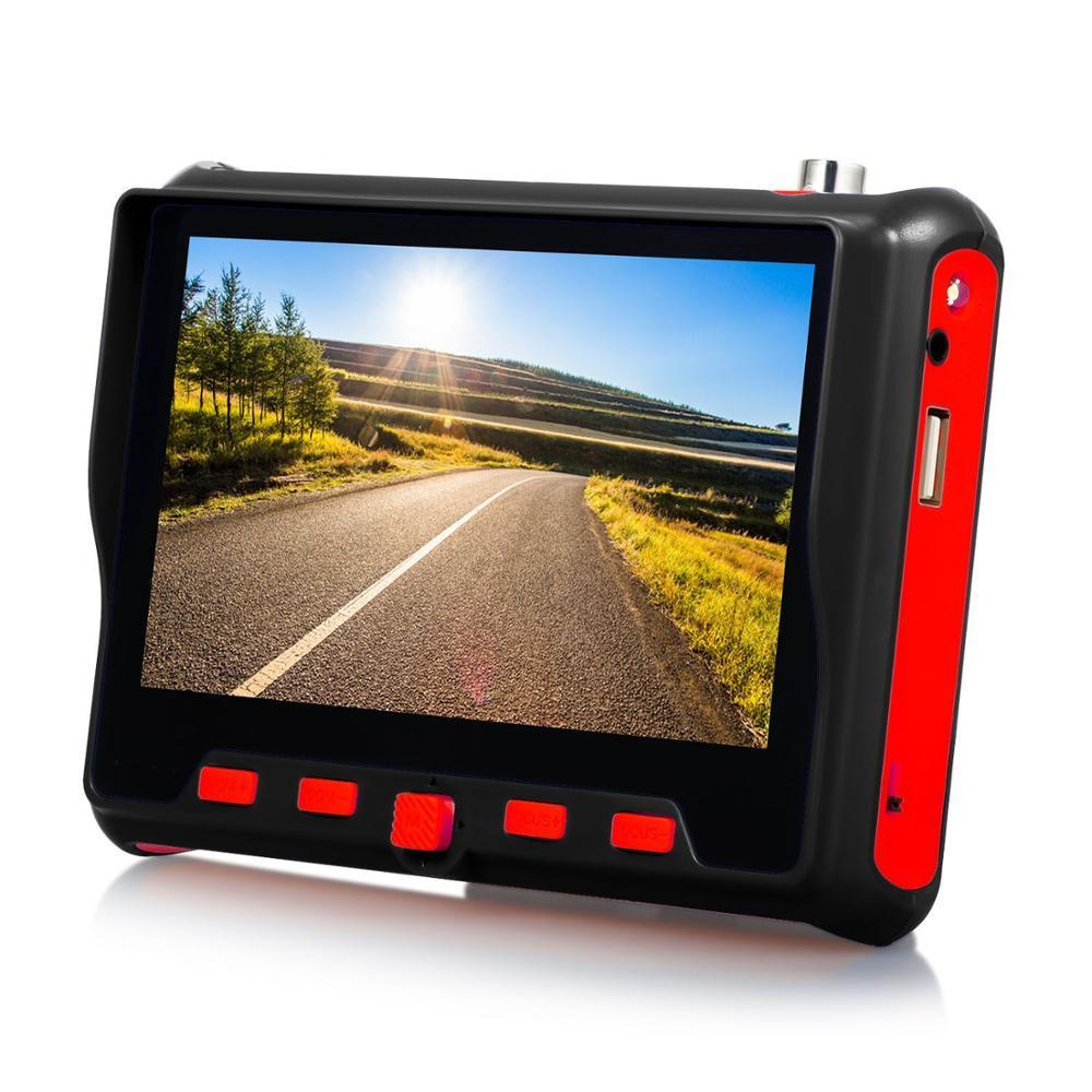 4.3 Inch HD CCTV Tester Monitor CVBS AHD CVI TVI Camera Tester 8MP 5MP 2MP 720P UTP Cable Tester PTZ UTC 12V Output