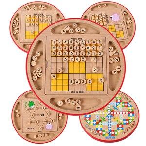 Многофункциональная игра Sudoku шахматы Раннее Обучение интеллект Jiugongge настольная игрушка 2019 игрушки для детей DD60SD