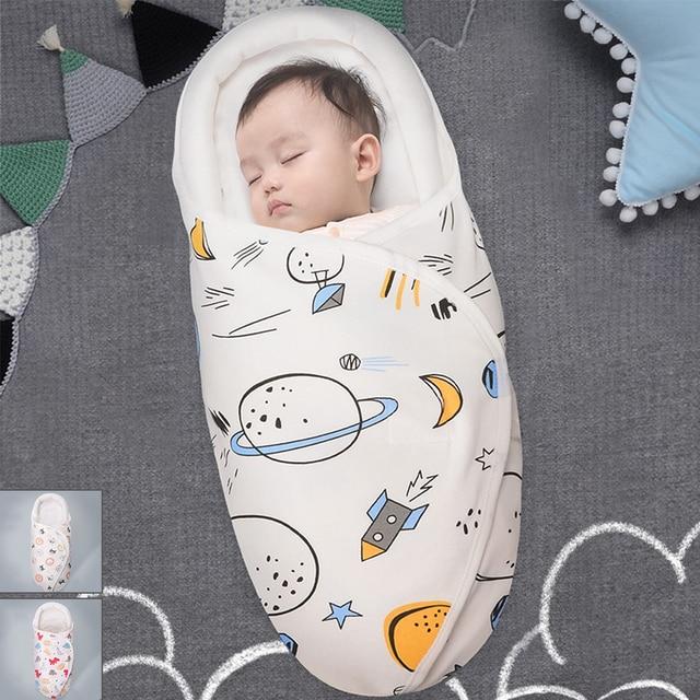 0-24M Baby Sleeping Bag Stroller 100%Cotton Thick Sleep sacks For Infant wheelchair envelopes newborns Cocoon For Newborns 1