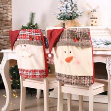 Christmas Elk Snowman Table Runner Merry Christmas Decorations For Home 2019 Xmas Ornaments New Year 2020 Navidad