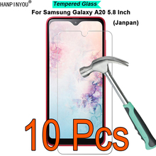 10 Pcs/Lot For Samsung Galaxy A20 SC-02M SCV46 5.8