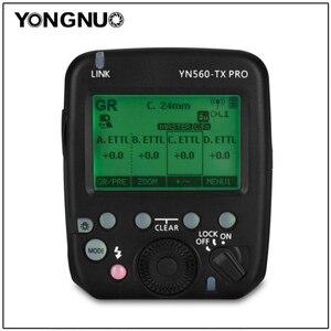 Image 1 - 永諾 YN560 TX プロスピードライトトランスミッター用 YN200 YN862C YN685 YN968 YN560 YN660 フラッシュサポート ETTL/M/ マルチ/Gr