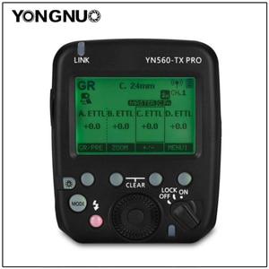 Image 1 - YONGNUO YN560 TX PRO Speedlite Transmitter Flash Trigger for YN200 YN862C YN685 YN968 YN560 YN660 Flash supports ETTL/M/Multi/GR