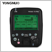 YONGNUO YN560 TX PRO Speedlite משדר פלאש טריגר עבור YN200 YN862C YN685 YN968 YN560 YN660 פלאש תומך אטל/M/ רב/GR