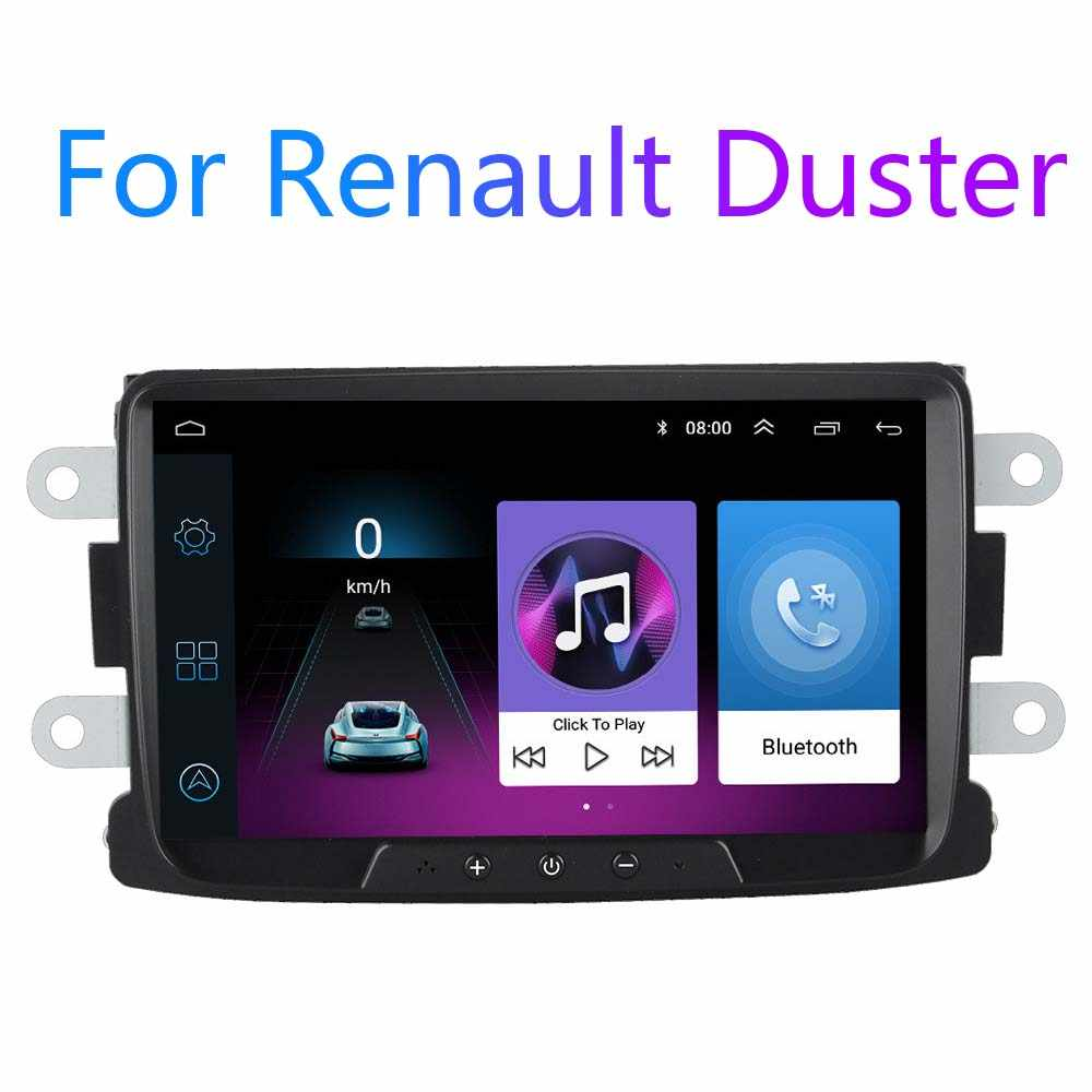 Android 8.1 Per Dacia/Sandero/Duster/Renault/Captur/Lada/Xray2/Logan2 GPS Per Auto radio Multimedia Video Player Supporto ADAS DVR