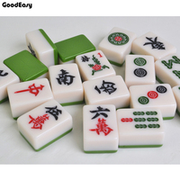 Home Mahjong Set Table Game Mah jong Travel Travelling Board Game Indoor Entertainment Chinese Funny Family Table Board Game