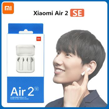 Nowy oryginalny zestaw słuchawkowy Xiaomi Air2 SE chińska wersja TWS Sport bezprzewodowy zestaw słuchawkowy Bluetooth Airdots 2SE Pro 20h sterowanie dotykowe tanie i dobre opinie Zaczepiane na uchu Dynamiczny CN (pochodzenie) Prawdziwie bezprzewodowe 120dB Do kafejki internetowej Słuchawki do monitora