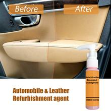 SALE 30ML Lasting Car Leather Coating Paste Decontamination Cleaner Auto Leather Renovated Cleaner Wholesale Quick delivery CSV