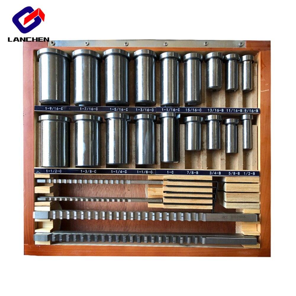 Keyway Broach 6mm C Push Type Metric Size High Speed Steel Keyway Cutting Tool