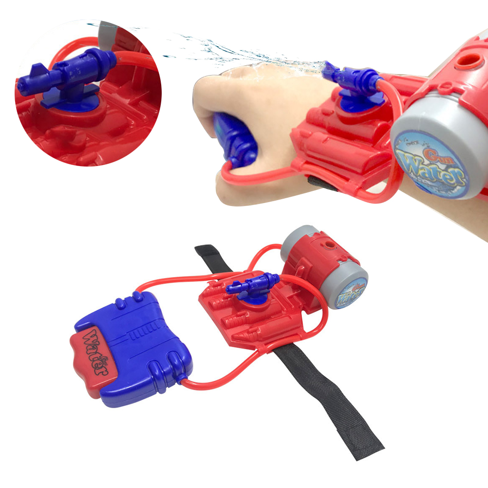 Kids Wrist Water Guns Toys Summer Beach Water Fun Wrist Blasters Toys Kids Shooter Toy For Pools Party Beach