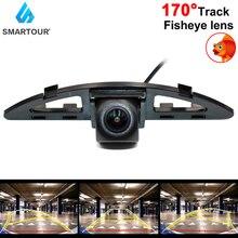Smartour Vehicle Fisheye Lens Rear View Camera Installation Bracket License Plate Lights For Honda City 2008 2009 2012 2014 Car