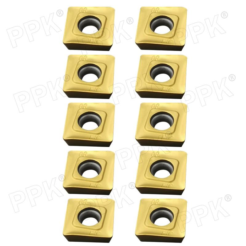 10* SEKT1204AFTN-FK VP15TF Carbide Inserts Milling blade CNC Carbide Insert