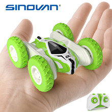 Sinovan Hugine RC araba 2.4G 4CH dublör sürüklenme deformasyon Buggy araba uzaktan kumanda Roll araba 360 derece çevirmek çocuklar robot RC oyuncak arabalar