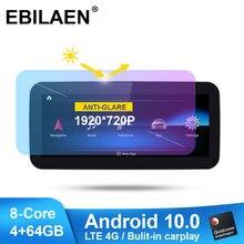 Qualcomm Android 10 Auto-Multimedia-Player für Mercedes Benz EINE W176 CLA C117 X117 GLA X156 Autoradio Navigation Kopf Einheit stereo