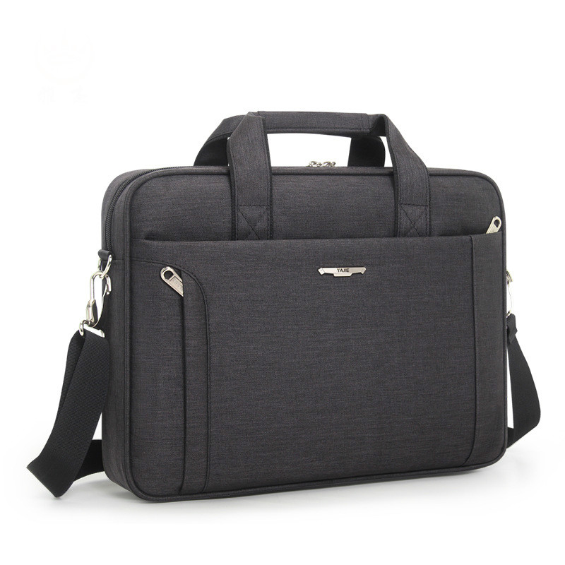 File Folder Laptop Case Men Business Handbag Single-shoulder Folder File Organizer 14